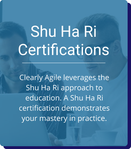 Shu Ha Ri Certifications: disruptiveOps leverages the Shu Ha Ri approach to education. A Shu Ha Ri certification demonstrates your mastery in practice