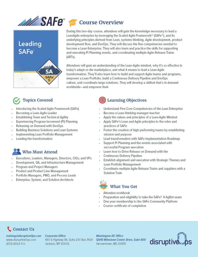 Leading SAFe PDF