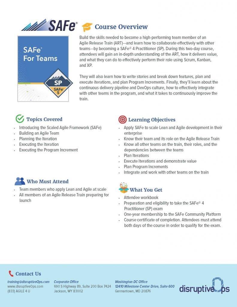 SAFe Teams PDF